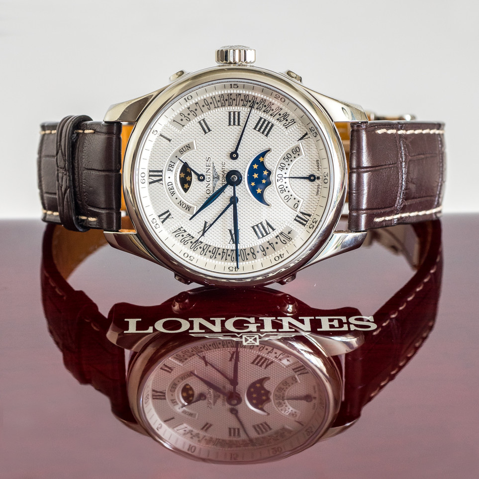 Jewelry Product Photography, Longines Starwatch
