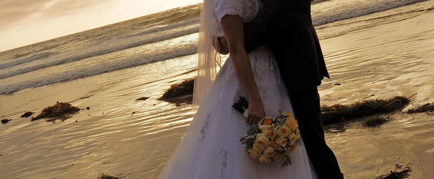 Beach Wedding Photography In San Diego C