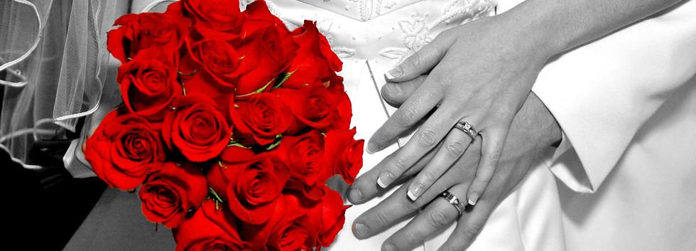 Red Rose Brides Bouquet San Diego
