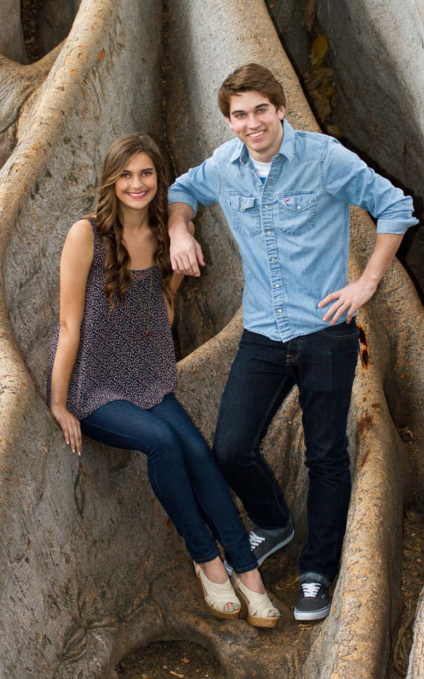 Brother and Sister Portrait Roots, Balboa Park