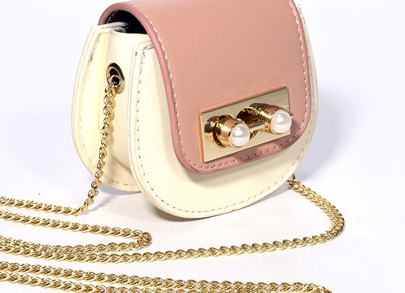 B.Pearl Mini Leather Coin Purse