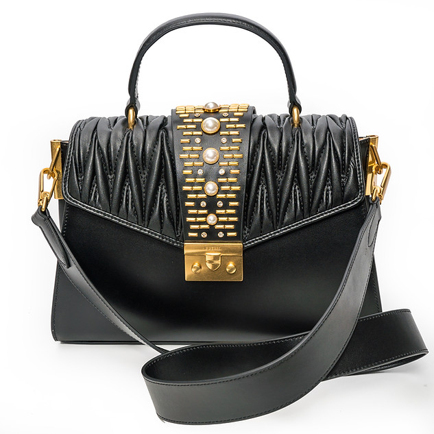 Black Pearl Luxury Leather Purse - JK-BP1901-2