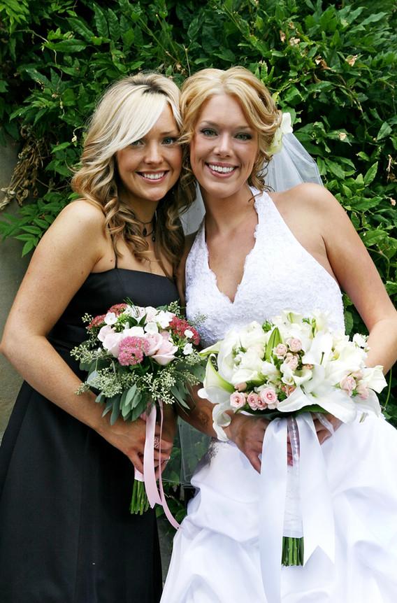 Bride Bridesmaid Portrait San Diego CA