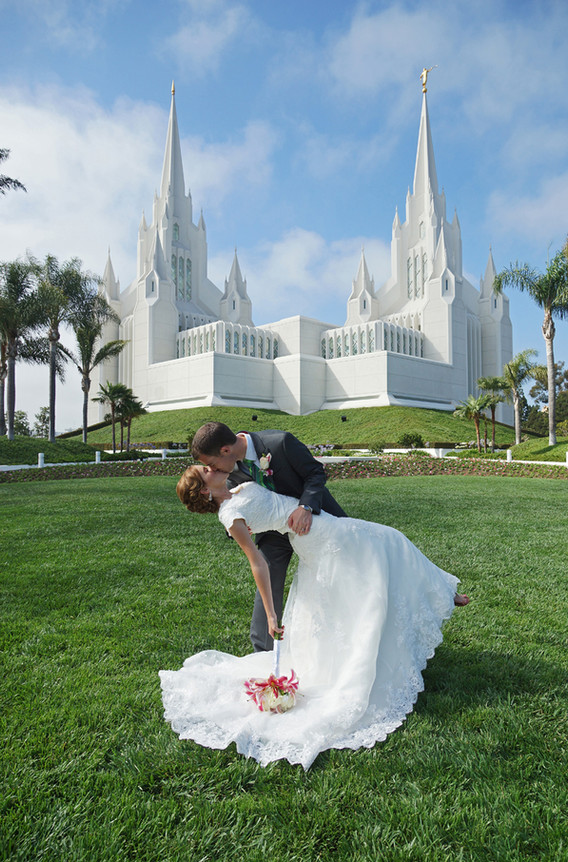 San Diego San Diego Temple Wedding Photographer, LDS