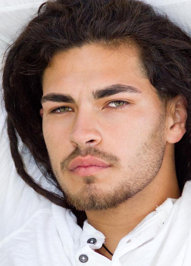 Male Model, Actor Headshot, Luis, LA