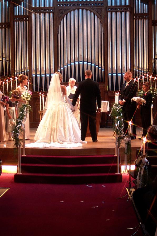 Low Light Wedding Photography, San Diego