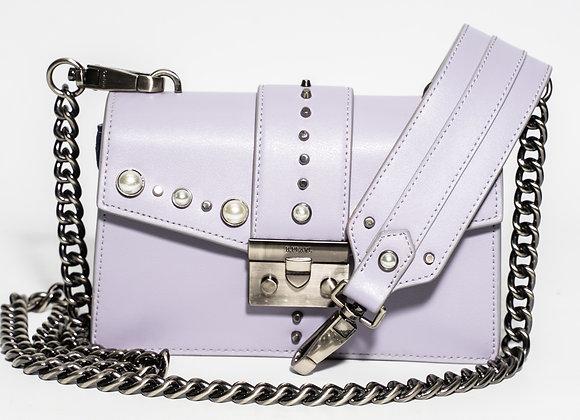 B.Pearl Small lavendar Leather Purse, No Tabs