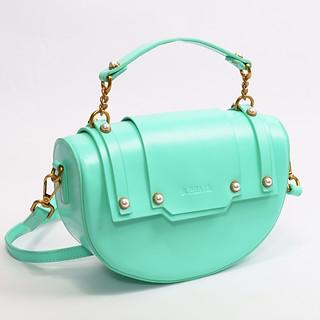 B.Pearl Coral Green Fashion Purse - TX-BP1903-3