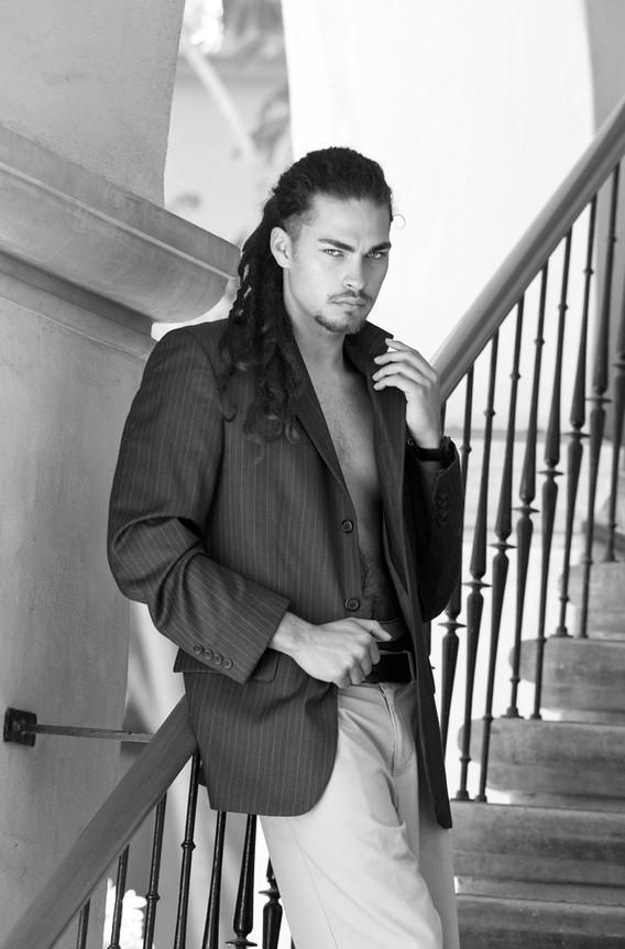 Luis, Male Model, Actor, Portfolio Shoot