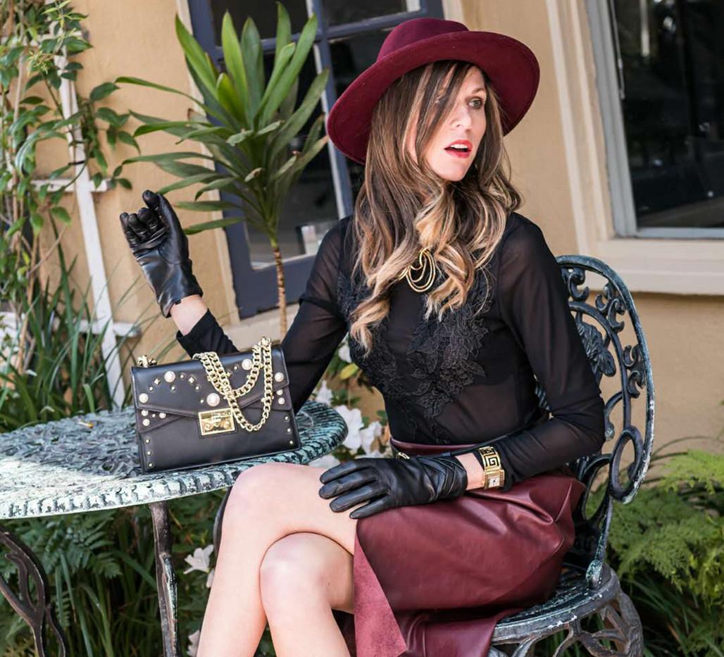 Model Photo Shoot, Black Lace, La Jolla