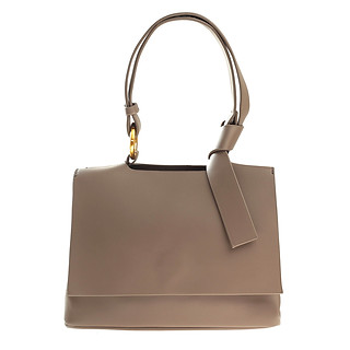 BBG B.Pearl Earth Grey Modern Handbag