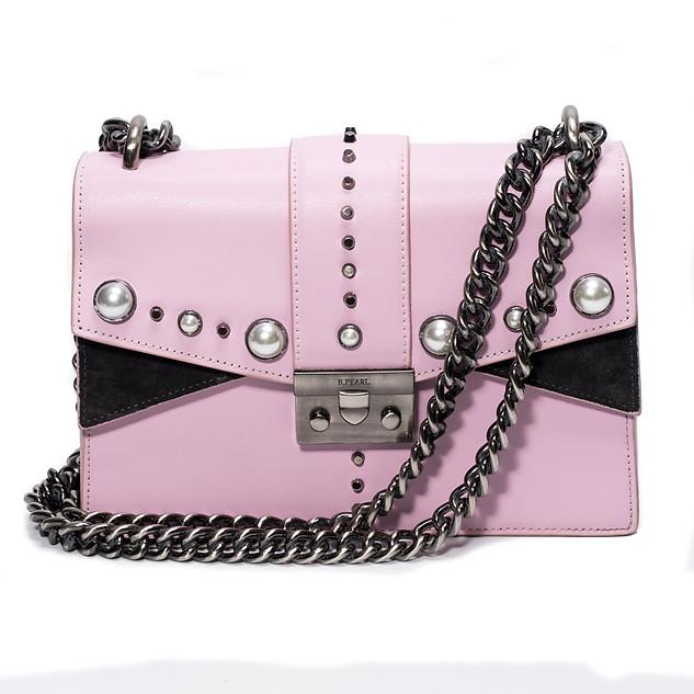 Pink B.Pearl eather Purse, JK, BP2688-4