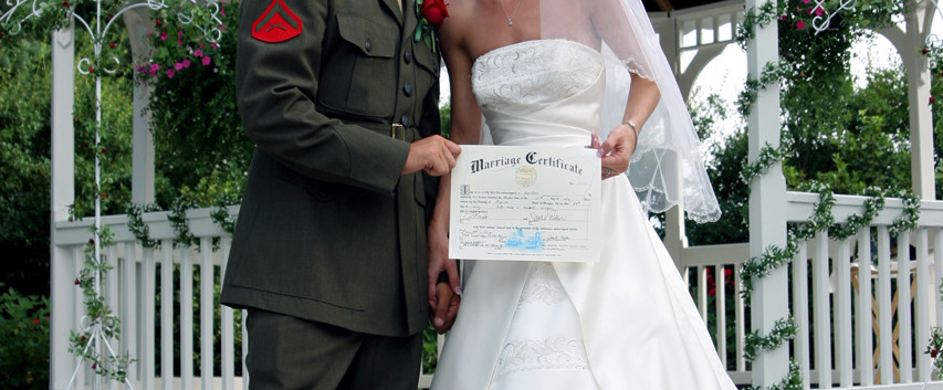 Military Wedding San Diego Photographer