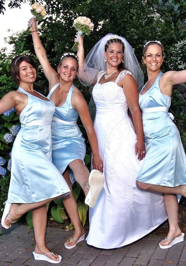 Brides Maids Celebration Shot, San Diego