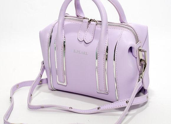 B.Pearl Candy Lavender Handbag