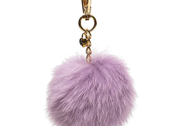 Lavender B.Pearl Fur Pompom, Fur Ball