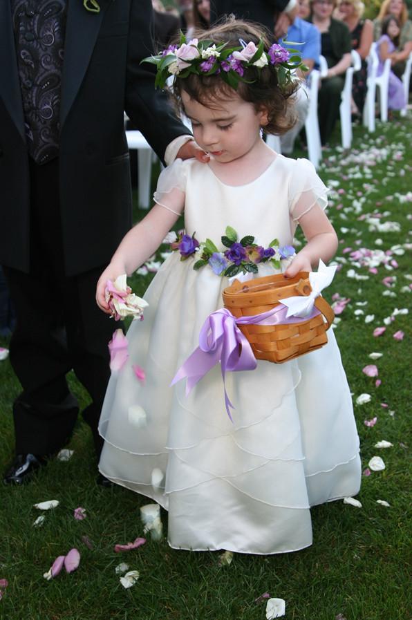 Flowergirl Wedding Pictures San Diego