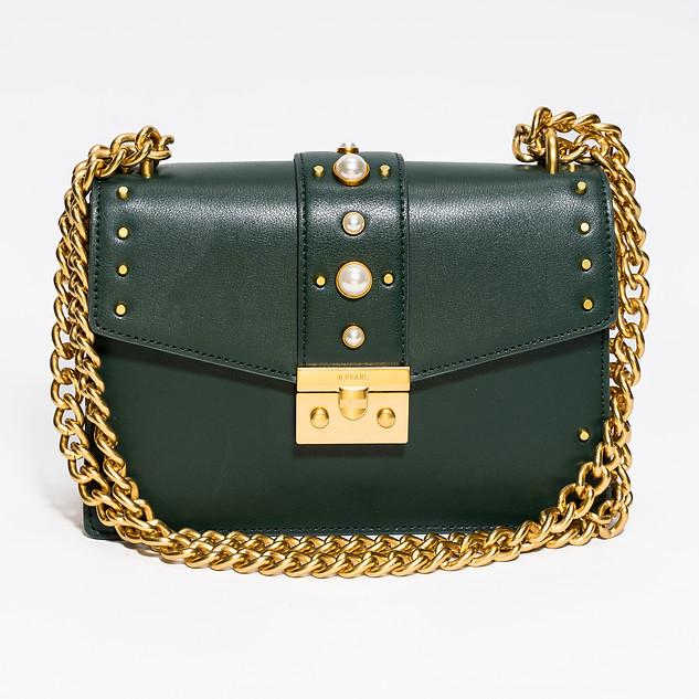 Olive Green B.Pearl Modern Cut