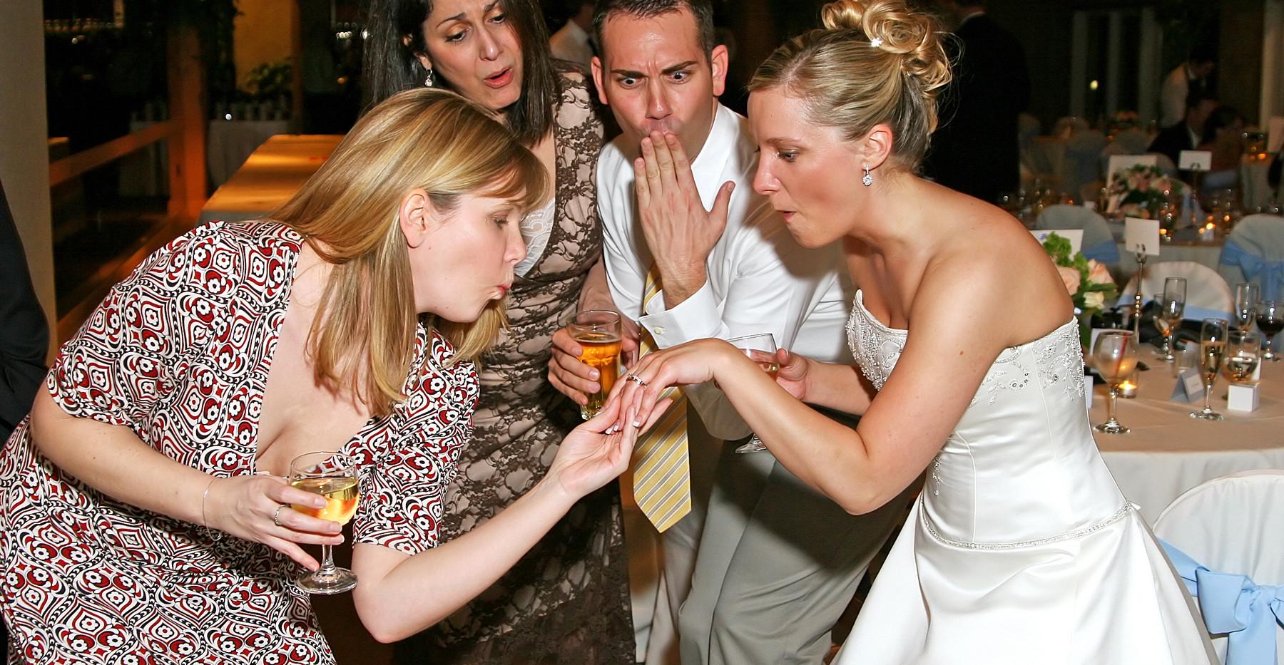 Drama Ring Shot Wedding Photography Drama