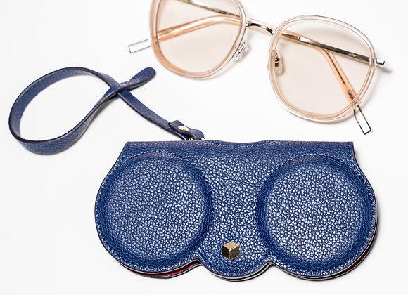 B.Pearl Blue Designer Sunglasses Case