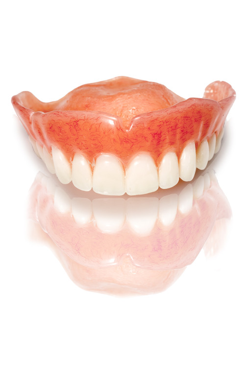 Product Photography, Medical, Dentures