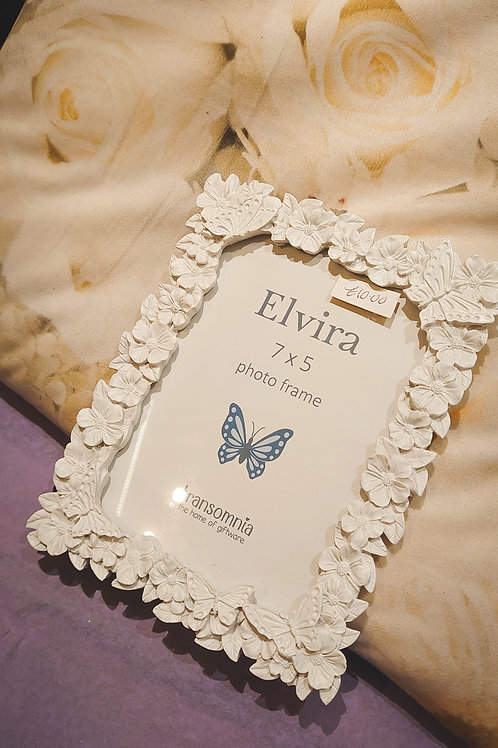 Photoframe 5*7 Flower & Butterfly frame