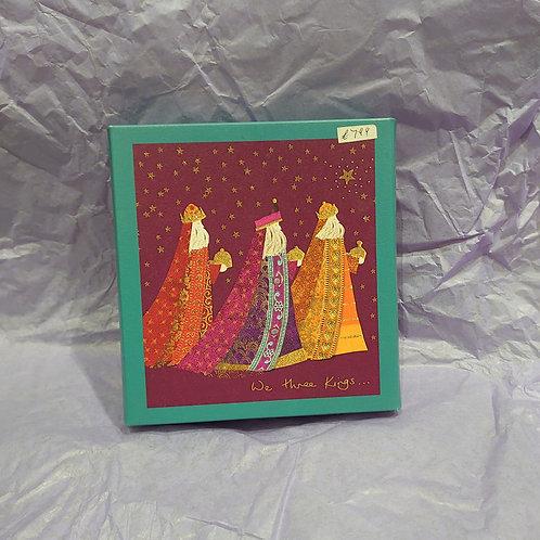 We three kings Christmas cards box of 8