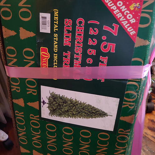 7.5 feet Christmas tree ex display