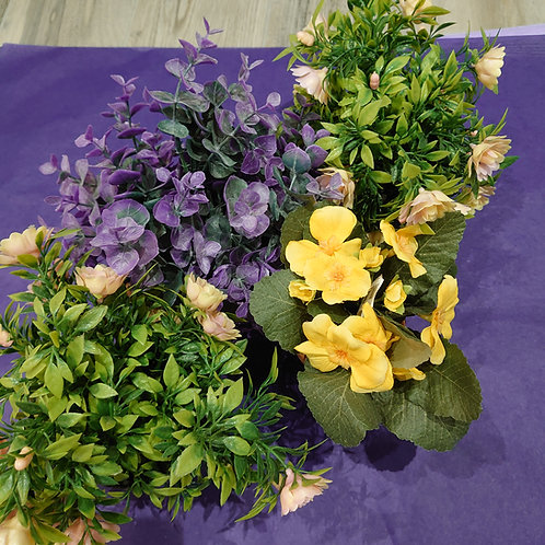 Artificial pot plants