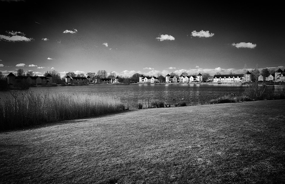 photo landscape b&w