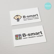 עיצוב לוגו מתחלף - B-smart