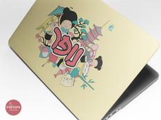 עיצוב לפטופ סקין - תרבות יפן