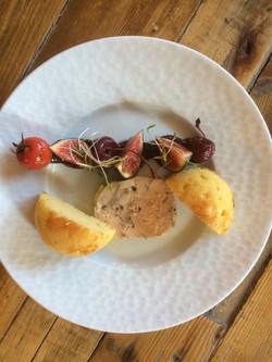 Foie gras et sa brioche maison