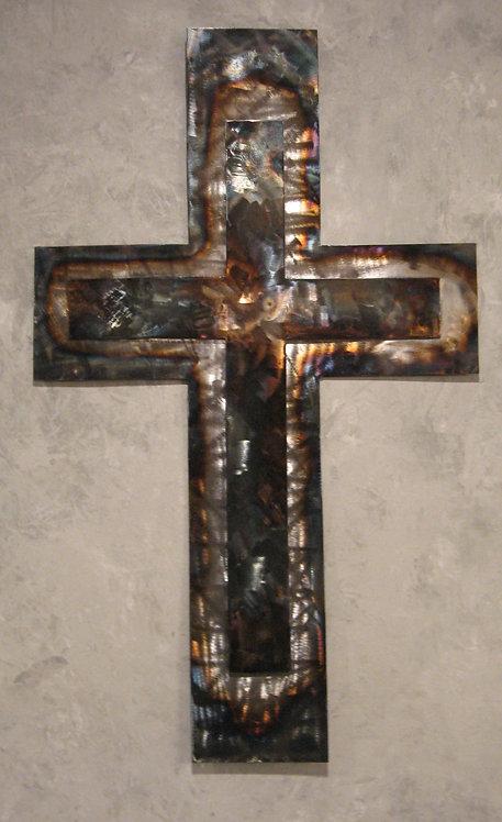 Double Layer Sheet Metal Cross