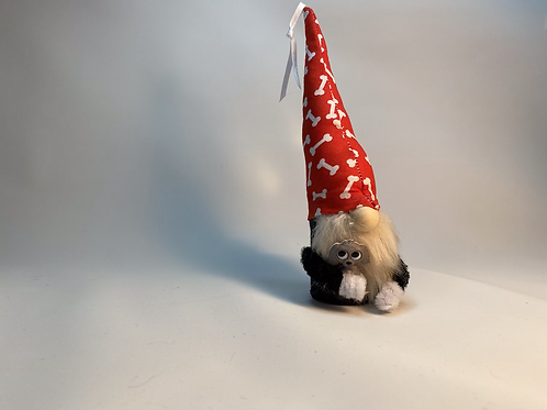 Cheery Gnome - Dog Lover with dog bone hat