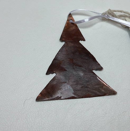Copper Tree Ornament 3inch
