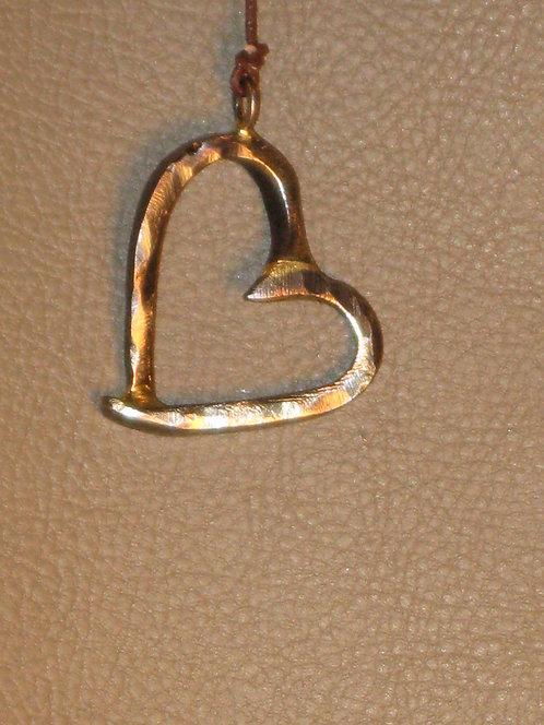 Nail Heart Pendant