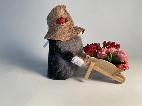 Gardening Cheery Gnome