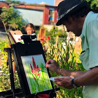 Art Classes at What Cheer Flower Farm, RI