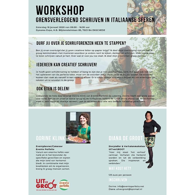 Workshop Grensverleggend Schrijven