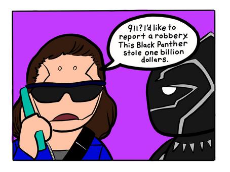 Little Robots: BBQ Becky x Black Panther