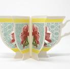 Teacup Book Vase