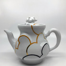 Cloud Teapot (Gold) with built in steeper