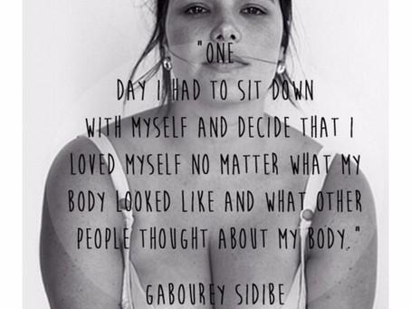 Abrace e ame o corpo que você tem!!!
