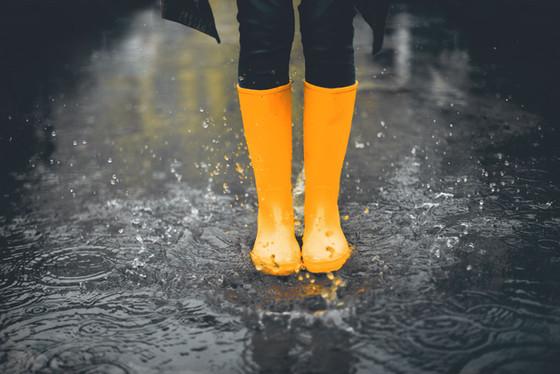 Raining in Central NY