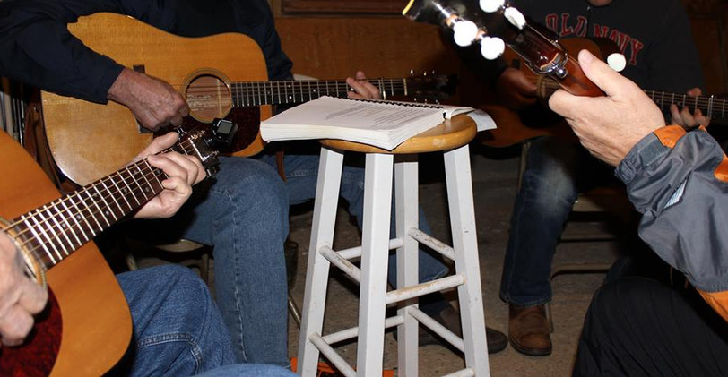 festival jam with stool and book.jpg