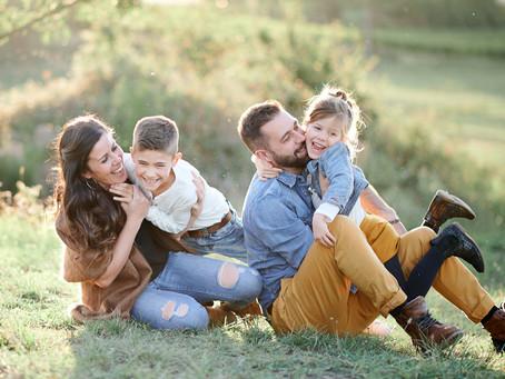 Séance Famille dans le Pîlat