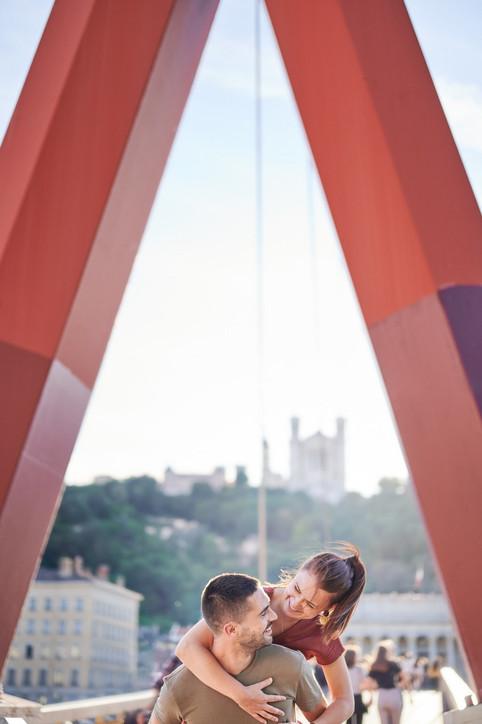 Photographe Couple Lyon - Séance couple