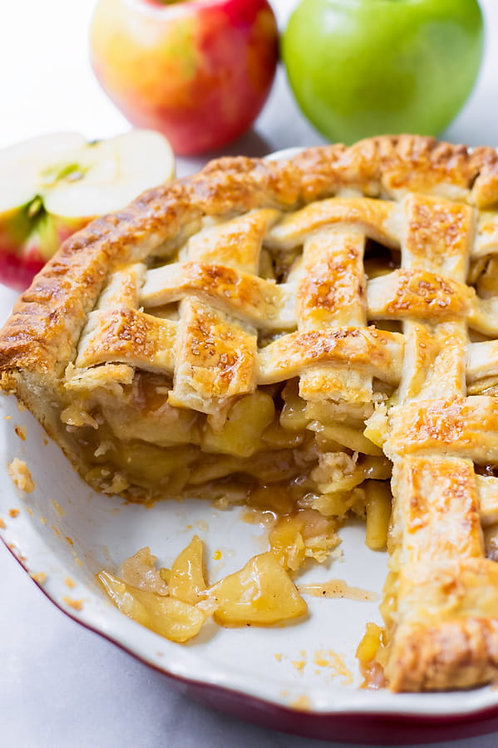 Macaron - Baked Apple pie