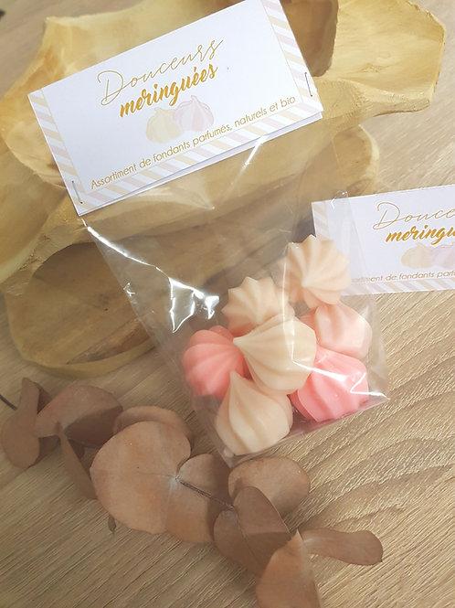 Douceurs meringuées florales
